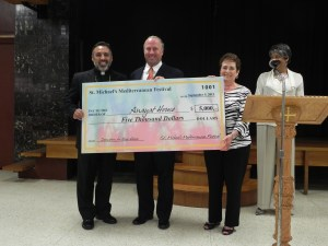 Donation From St. Michael's Church